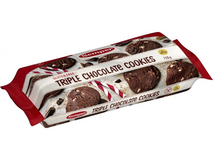 Tiple Choc Cookies