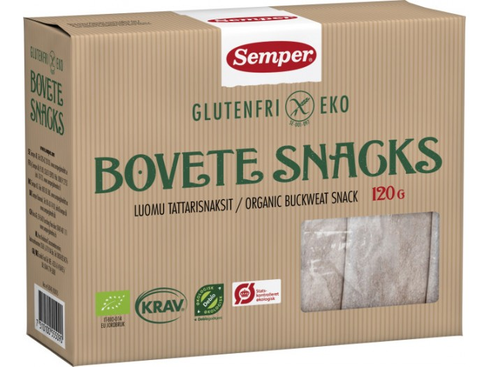 Bokhvete snacks
