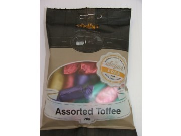 Stockleys Assorted Toffees Sugar Free Pre Pack