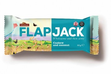 Flapjacks 2017 Cashew and Coconut