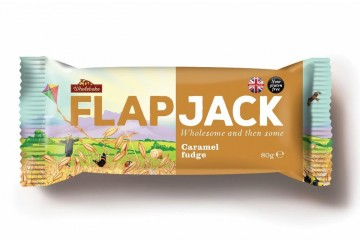 Flapjacks 2017 Karamell fudge