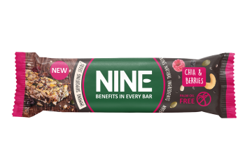 NINE BAR chia og bær